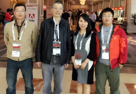EAGLE实验室老师赴美国参加CSUN大会