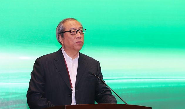 全国人大常委会委员、中国法学会副会长张苏军作主旨演讲