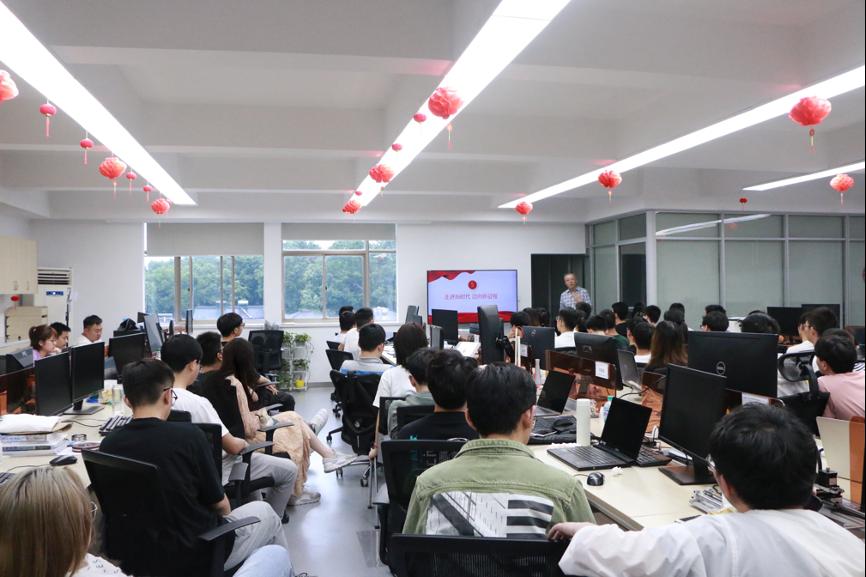 EAGLE实验室全体师生共同学习中国共产党发展历程